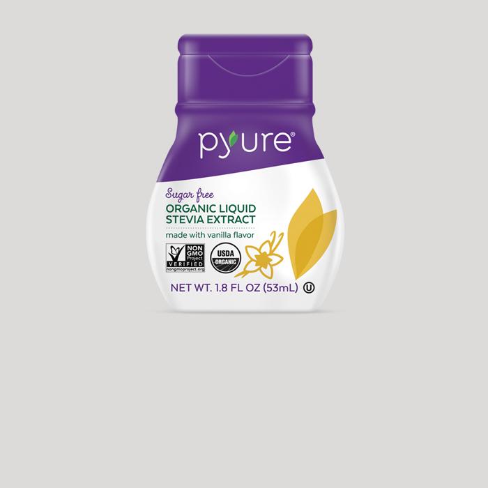 Organic Liquid Stevia Extract – With Vanilla Flavor
