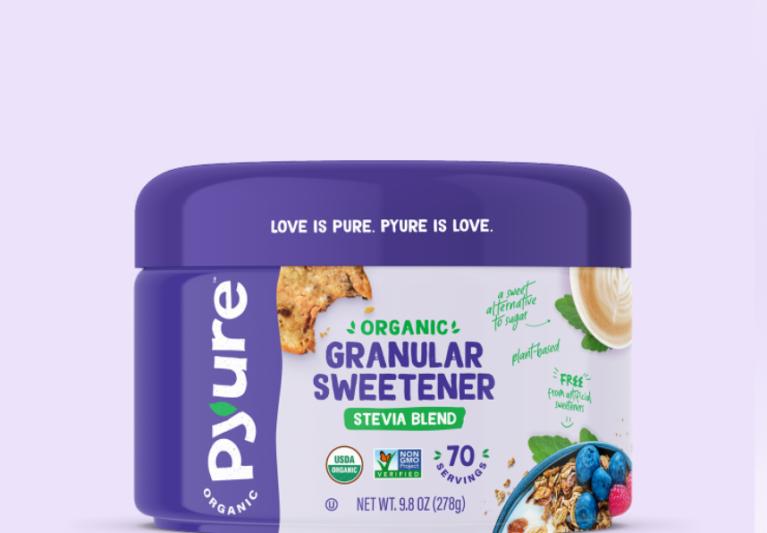 Organic All-Purpose Stevia Sweetener – Scoopable Tub