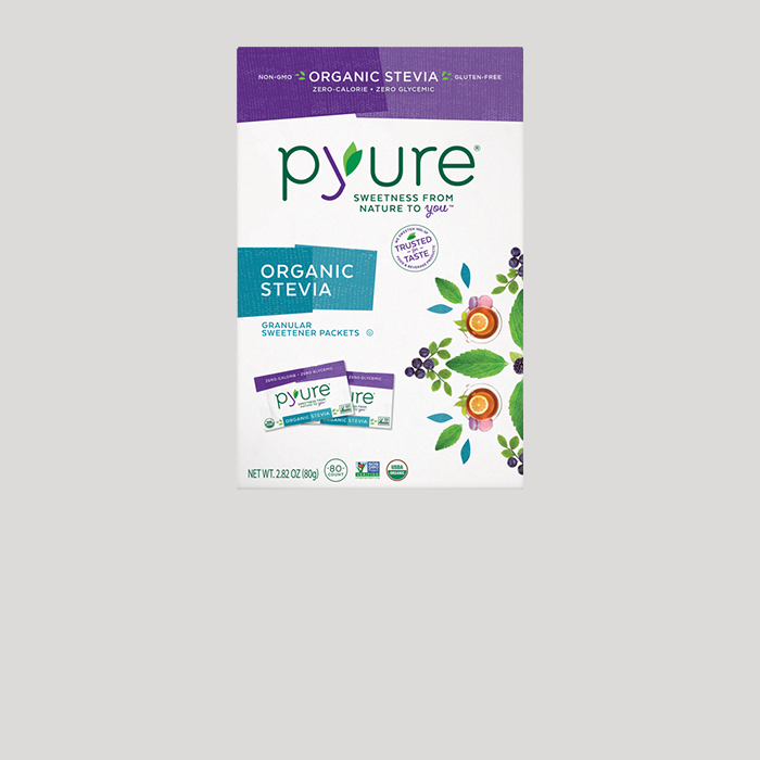 Organic Stevia Sweetener – 80 Packets