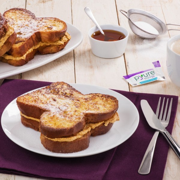 Stuffed Pumpkin Spice French Toast