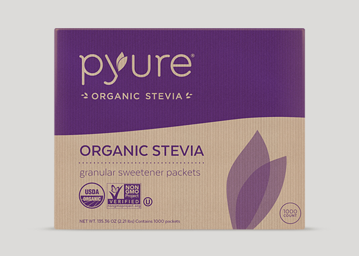 Organic Stevia Sweetener – 1000 Packets