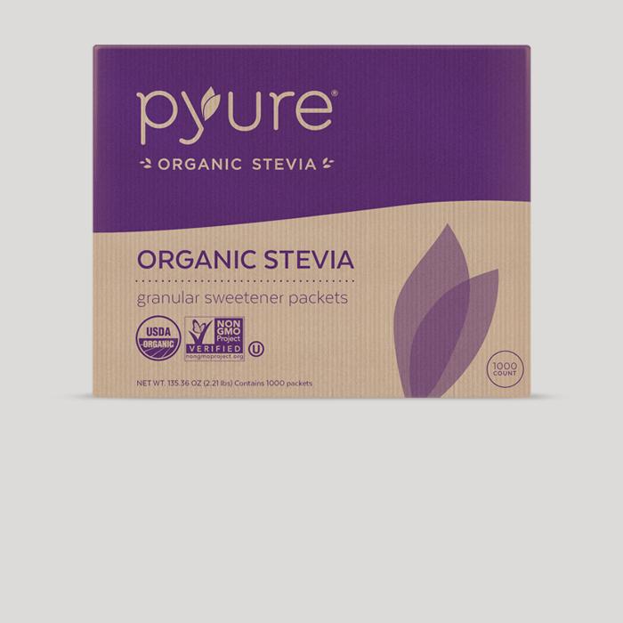 Organic Stevia Sweetener – 1000 Packets