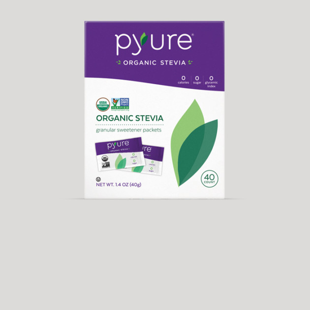 Organic Stevia Sweetener – 40 Packets