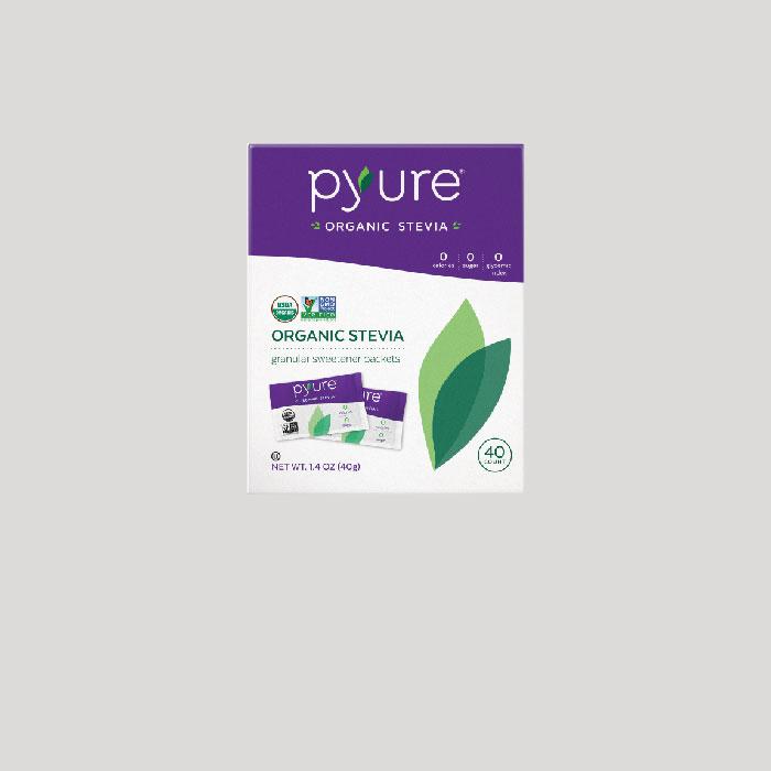 Organic Stevia Sweetener – 40 Packets