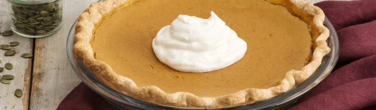 Pumpkin Pie – No Sugar Added!