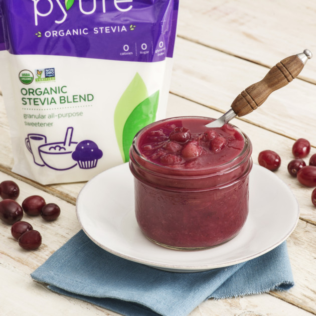 Pyure Cranberry Sauce