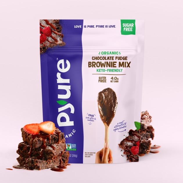 Organic Sugar-Free Chocolate Fudge Brownie Mix