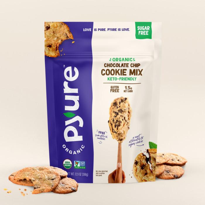 Organic Sugar-Free Chocolate Chip Cookie Mix