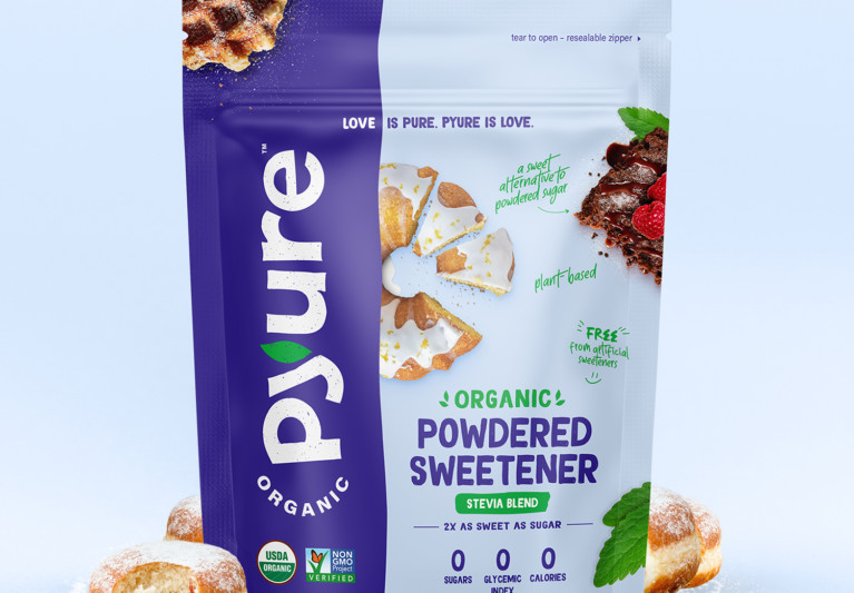 Organic Powdered Confectioners Stevia Sweetener – Pouch