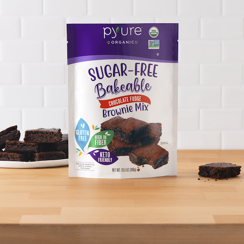 Organic Sugar-Free Chocolate Fudge Brownie Mix