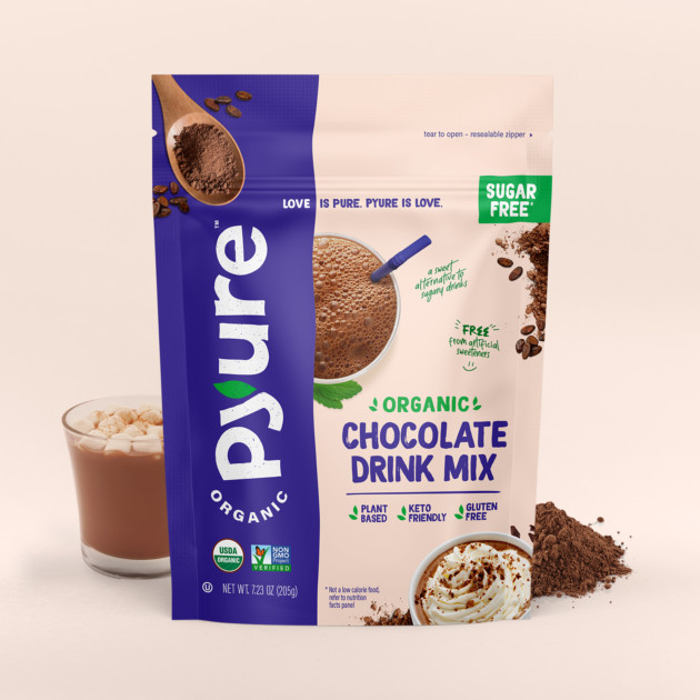 Organic Chocolate Drink Mix With Cocoa