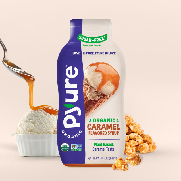 Organic Caramel Flavored Syrup