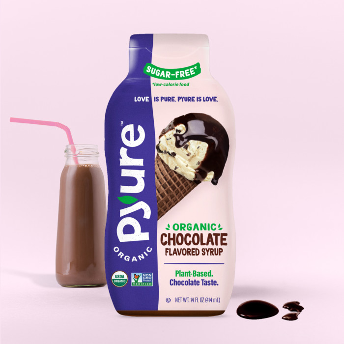 Organic Chocolate Syrup with Cocoa