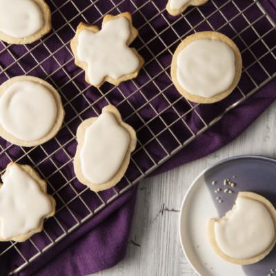 Keto Thanksgiving Sugar Cookies
