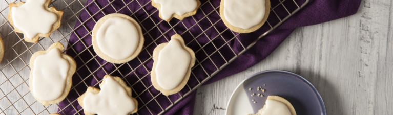 Keto Thanksgiving Sugar Cookies