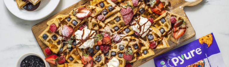 Waffle Dessert Board